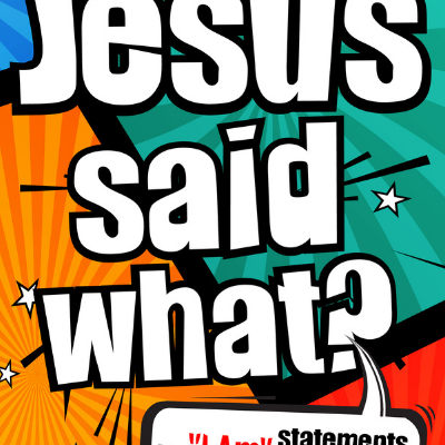CC Kids –  Elementary Bible Study Groups – Jesus Said What? Jesus is The Bread of Life